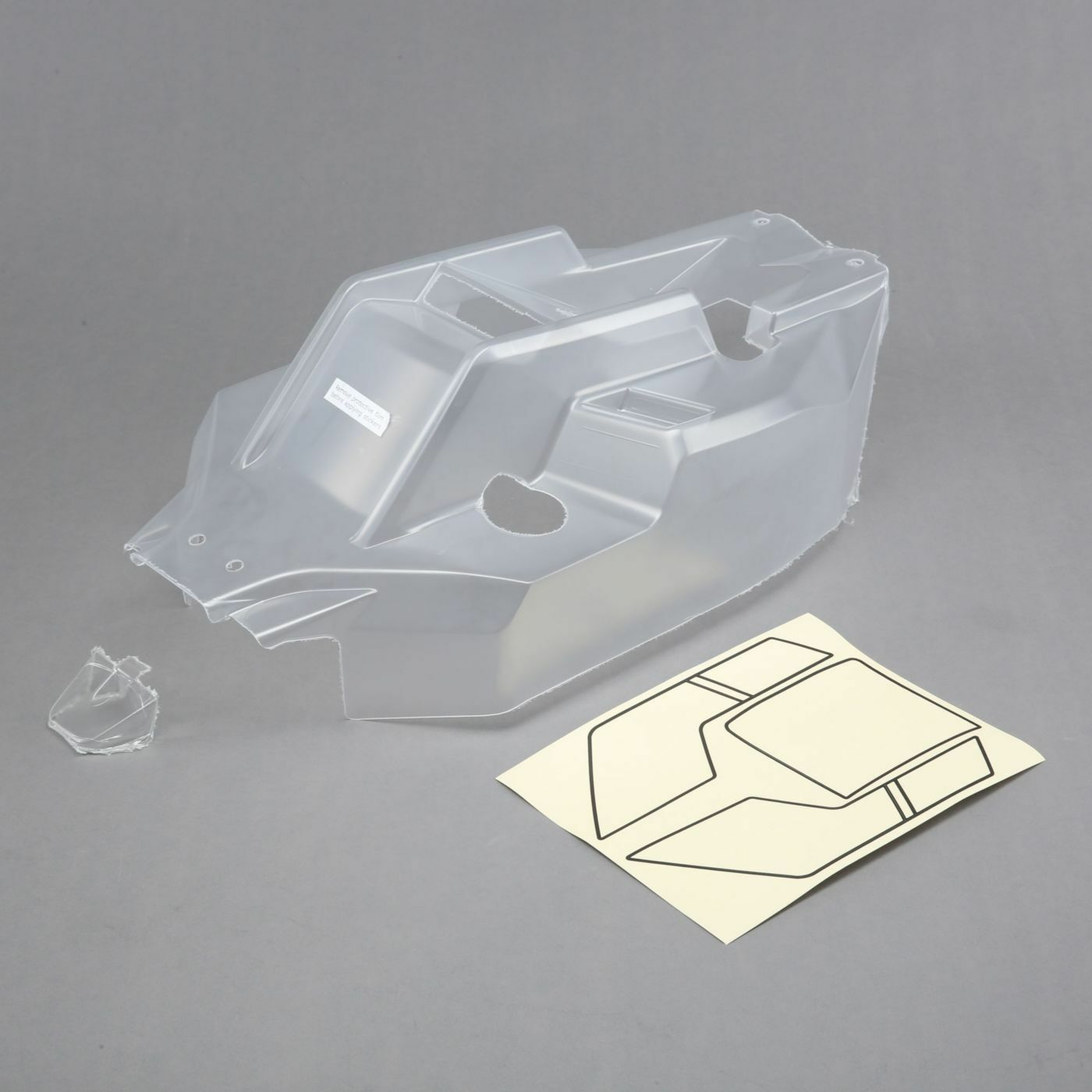 Team Losi Racing TLR250002 Body w window mask, Clear  5IVE B