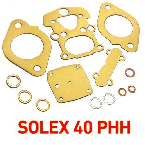 Solex 40 PHH service gasket kit repair for BMW and NSU Dichtsatz