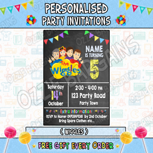 THE-WIGGLES-Personalised-Birthday-Party-Invitations-Invites-Party-Supplies
