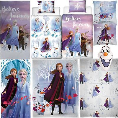 Frozen 2 Biancheria Da Letto Piumini D'oca Asciugamano Cuscino Coperta Elsa Anna venduta separatamente   eBay