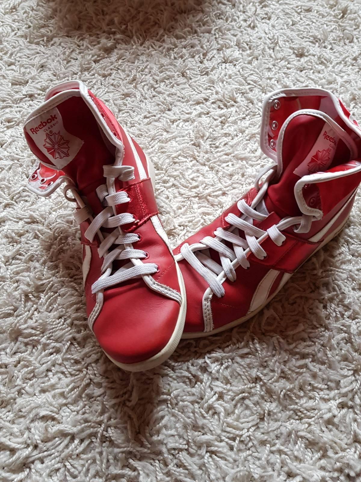 Reebok Schuhe rot weiß Hip Hop Gr. 38