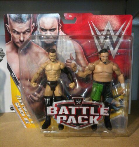 WWE Battle pack Finn Balor /& Samoa Joe Series #43B Mattel Wrestling Figures BINB