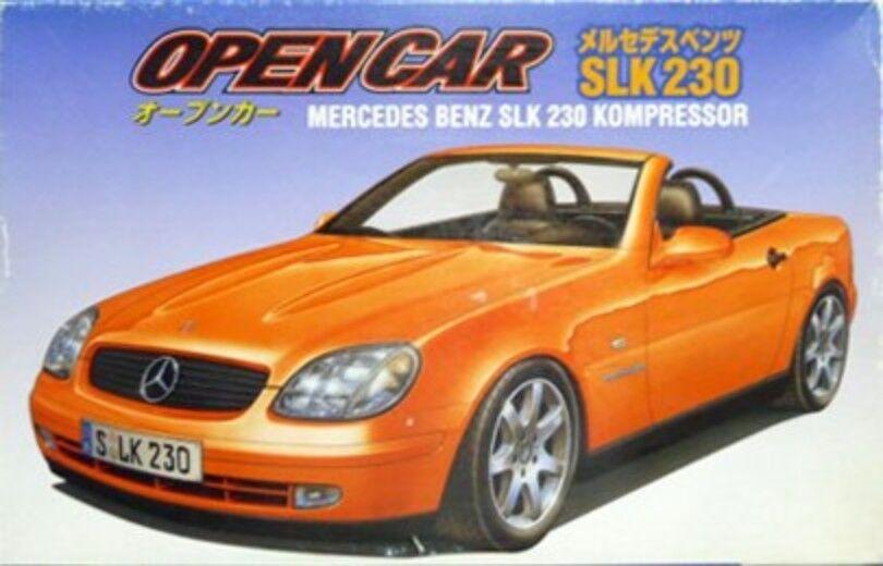 Fujimi 1 24 Mercedes Benz SLK 230 Kompressor Aperto Auto  Kit modellolo Da  negozio outlet