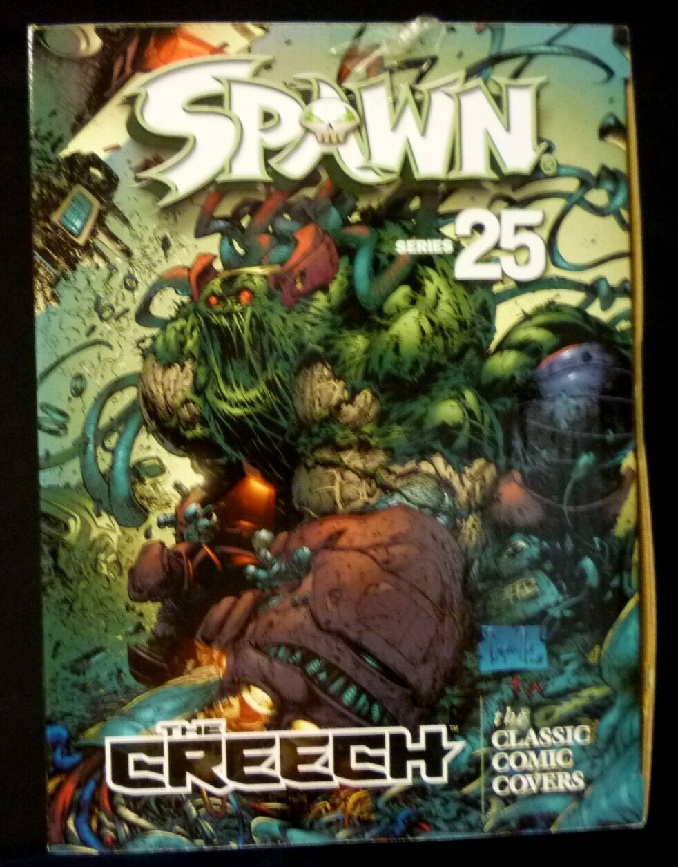 Spawn Creech Classic Comic Covers Series 25 2004 Deluxe Box Set McFarlane CASE F