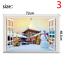 thumbnail 3 - 3D Merry Christmas Wall Decals Removable Window Stickers Decor DIY Art Xmas  *