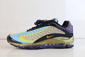 5c1a7b65465e Nike Air Max Deluxe Midnight Navy Laser Orange AJ7831-400 8-13 1 ...