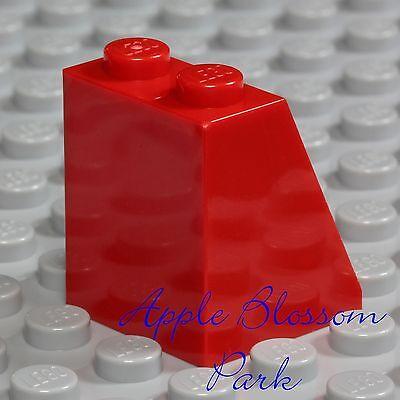 NEW Lego Female Minifig Plain RED SKIRT - Princess Girl Queen Dress Slope Bottom