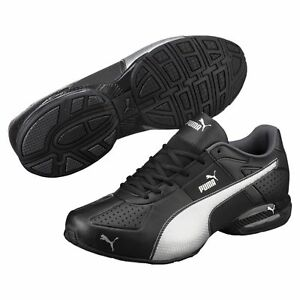 f4675e8cbc369a PUMA Cell Surin 2 FM Black Men s Running Shoes Size 9 NEW