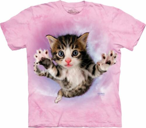 The Mountain Pounce Chicken Seth Casteel Cat Animal Pet Adult T Shirt 105783