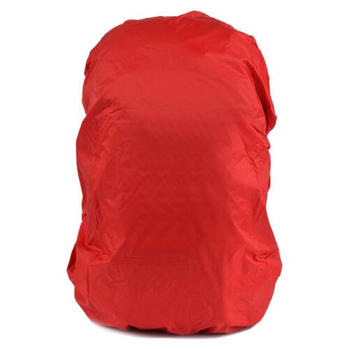 Außen Wanderrucksack Regenschutz Abdeckung Zelten Tasche Wasserfest Staub Neu