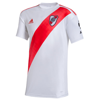 reputable site 4584d af441 River Plate 2019-2020 Home Soccer Jersey Shirt Oficial Argentina | eBay