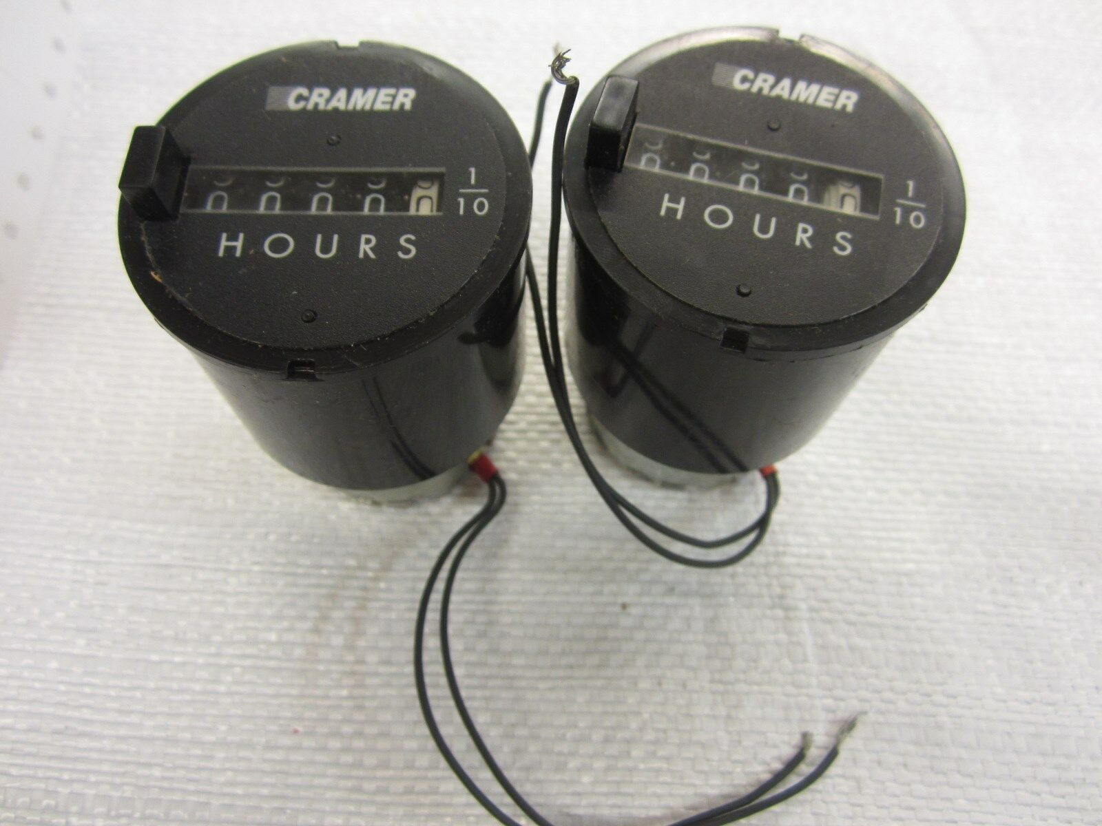 2 -CRAMER 636W-AA TIMERS - PARTS OR REPAIR
