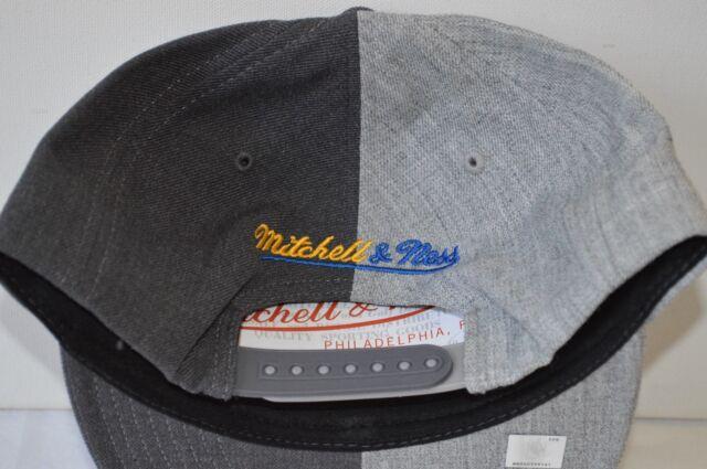 buy popular c1bd0 4af02 Golden State Warriors 2016 NBA Mitchell   Ness Split Heather Snapback Hat  Cap for sale online   eBay