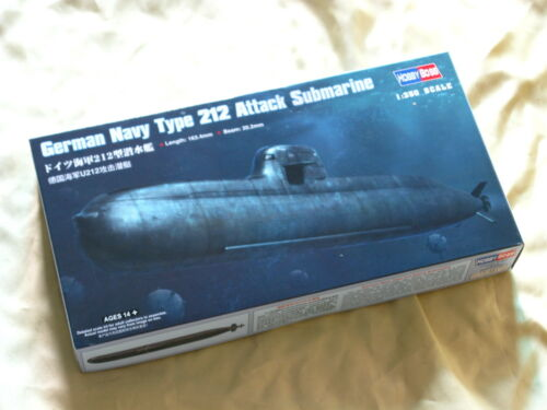 Hobby Boss 83527 1350 German Navy Type 212 Attack Submarine