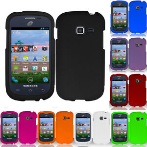 For-Samsung-Galaxy-Centura-S738C-Rubberized-HARD-Case-Snap-On-Phone-Cover