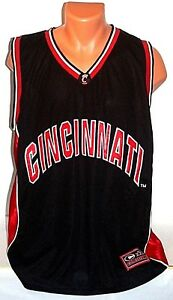 b9b4a68a1809 Image is loading Cincinnati-UC-Bearcats-Basketball-XL-Colosseum-Jersey-New-