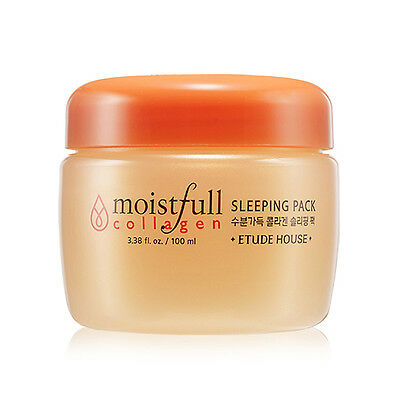 [ETUDE HOUSE]  Moistfull Collagen Sleeping Pack 100ml - BEST Korea Cosmetic