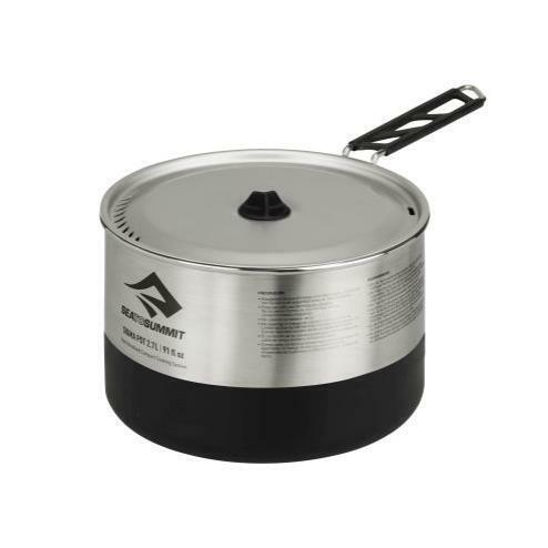 Sea To Summit Sigma pot 2.7 litros campingkochtop outdoor cocinar