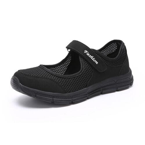 Women/'s Non-skid So Comfy Casual Strap Sneakers
