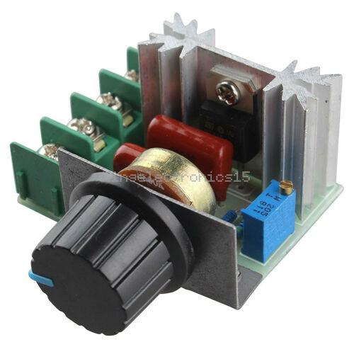 220V 2000W Speed Controller SCR Voltage Regulator Dimming Dimmers Thermostat