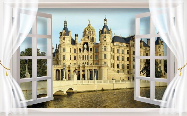 3D Europäisches Schloss 754 Tapete Wandgemälde Tapete Tapete Tapete Tapeten Bild Familie DE  | Ruf zuerst  | Ein Gleichgewicht zwischen Zähigkeit und Härte  | Zu einem niedrigeren Preis  506b27