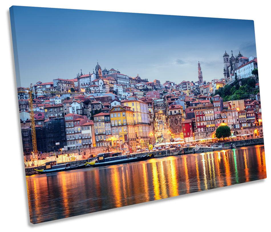 Porto Portogallo Tramonto a muro arte unica stampa foto