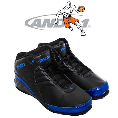 ca652f3d482 Size 7 US AND 1 Men s Rocket 3.0 Mid Basketball Shoe Black and Royal Color