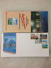 (JC) Kuala Lumpur, Garden City of Lights 1990 - FDC