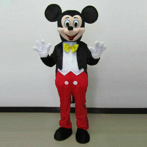 Mickey and Minnie Mouse Adult Mascot Costume Party Clothing Fancy Dress Hot Sale