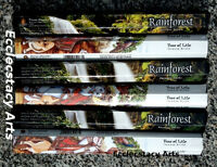 Kamini Rainforest-tree Of Life Incense 6 X 20 Sticks = 120 Incense Hand Rolled