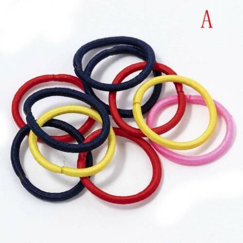 Creative 5//12X Women Velvet Elastic Rope Tie Scrunchie Ponytail Holder Hair Acc