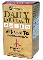 Daily Detox Ii Caffeine Free Passion Fruit Green Tea, 30-count, New, Free Shippi on sale