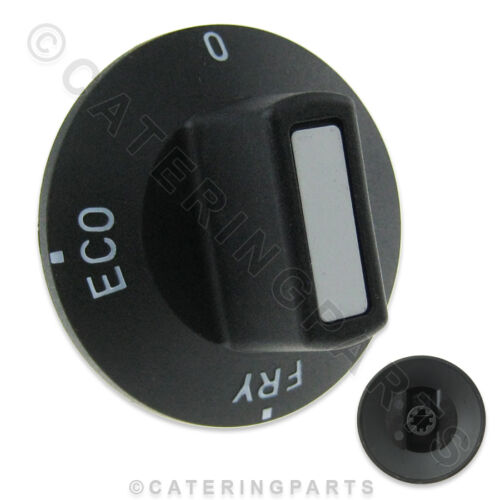 FRY ECO MELT SWITCH CONTROL KNOB FOR V SERIES FRYER VALENTINE 6331 BLACK O
