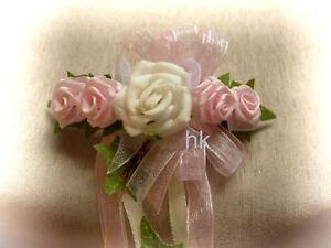 Haarschmuck-Haarspange-Blumenspange-Kommunion-Hochzeit