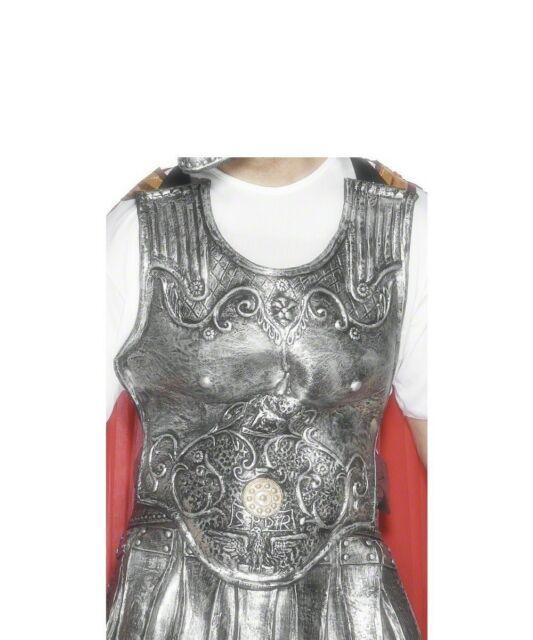 GLADIATORE ROMANO Armatura Pettorale Latex torace PEZZO adulti costume