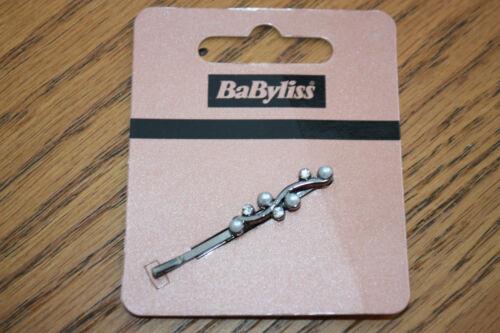 Babyliss Vintage Style Dainty Crystal Diamante /& Pearls Hair Clip Grip Slide