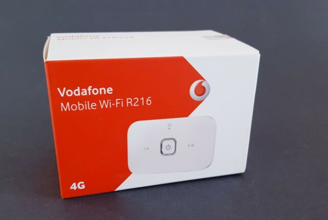 Vodafone Mobile Wi Fi R205 unboxing