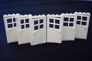NEW-Set-Of-6-1x4x6-White-Door-White-Frames-White-Doors