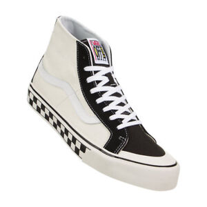 9cdb164deb VANS SK8 HI 138 DECON MEN SHOES BLACK WHITE CHECKER VN0A3MV1R34 SIZE ...