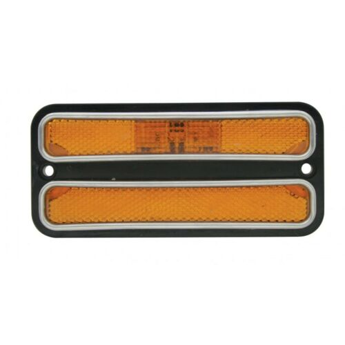 United Pacific CML6872A 1968-72 Chevrolet GMC Truck LED Amber Side Marker Light