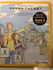 Doitsu-Kara-Konnichiwa-Konnochiwa-Japan-Band-2-Japanisch-Lehrbuch