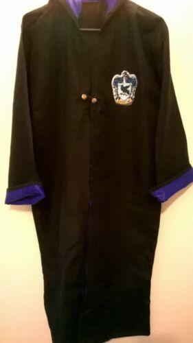 Children// adult Wizard Costume Cloak Harry Hermione Halloween Cosplay Robs all S