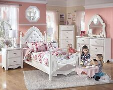 Ashley Furniture Exquisite Twin Youth Fairy Tale 6 Piece Bed Set B188