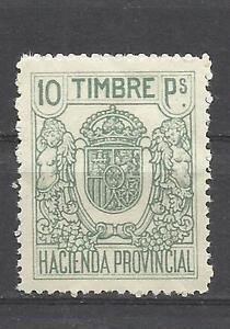 692-SPAIN-REVENUE-SELLO-FISCAL-NUEVO-ANO-1926-HACIENDA-PROVINCIAL-ESPANA-10-PTS