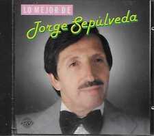 Jorge Sepúlveda – Lo Mejor De Jorge Sepúlveda CD 1988