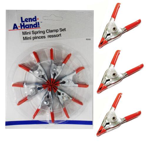 Mini Spring Clamp Set 2 In (environ 5.08 cm) Metal Micro Spring À faire soi-même Nouveau PINCE CLIPS x 6 pcs Pack
