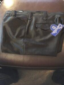 678ec1f1711c CIRCLE S Men's Western Black Suit Dress Ranch Pant Size 38 CP50-91 ...