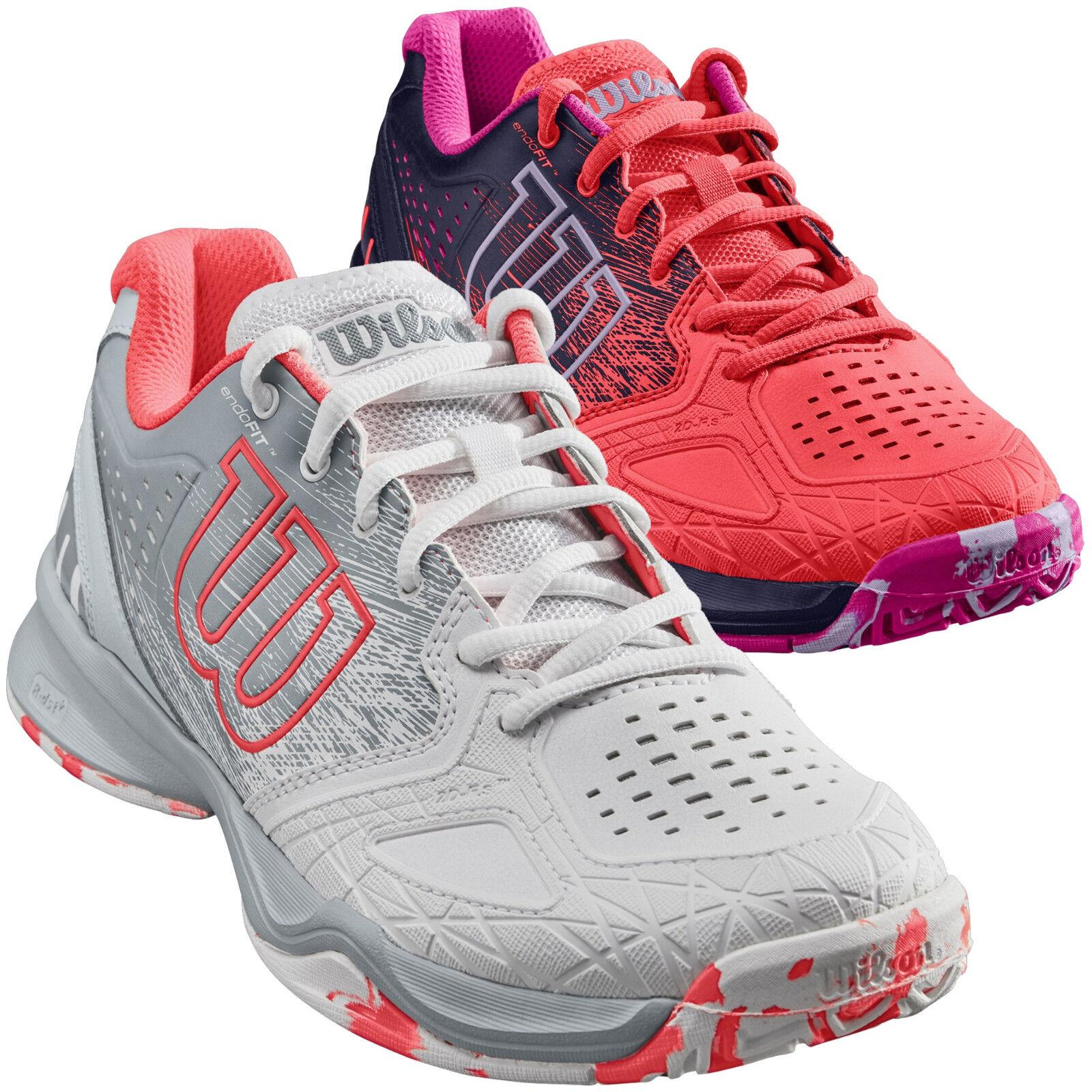 Wilson KAOS COMP Damen Tennisschuhe Outdoor WRS323900 WRS323900 WRS323900 weiß WRS323920 Orange 1dd37b