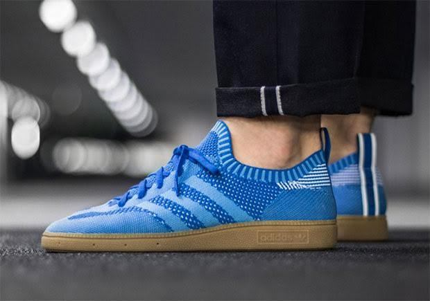 Adidas Originals Very Spezial Primeknit Light Blue S74843 ( All Size ) PK SPZL