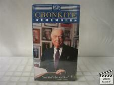 Cronkite Remembers VHS Walter Cronkite